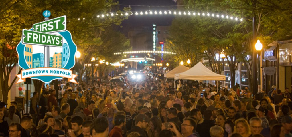 First Fridays Downtown Street Party