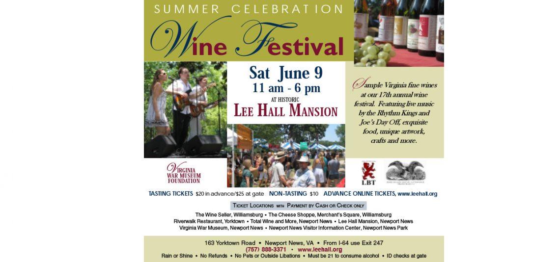 Summer Celebration Wine Festival