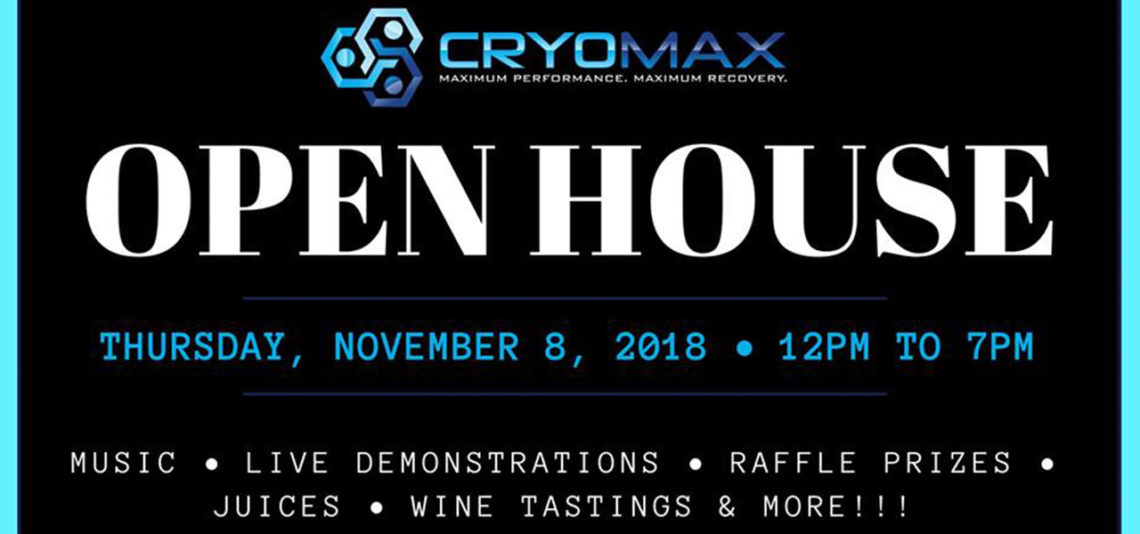 Cryomax Open House