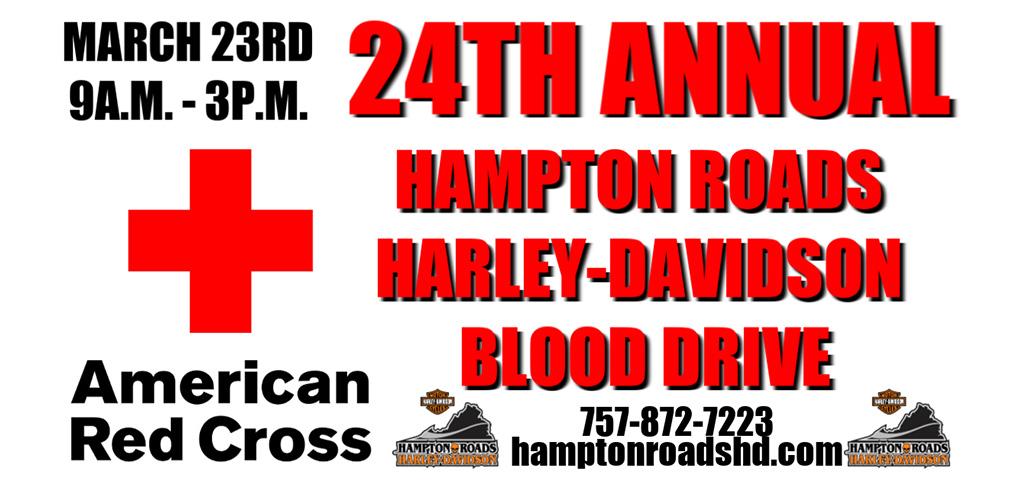 Hampton Roads Harley Davidson Blood Drive