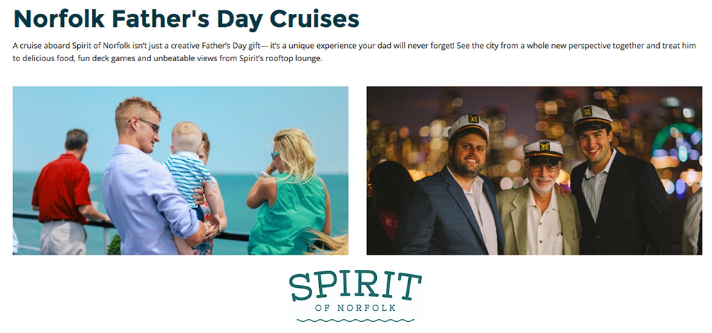 Norfolk Father's Day Cruises