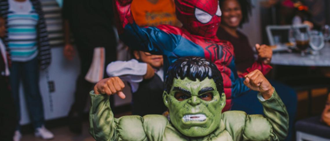 Superhero Halloween Lunch Cruise