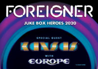Foreigner 2020 with Kansas and Europe