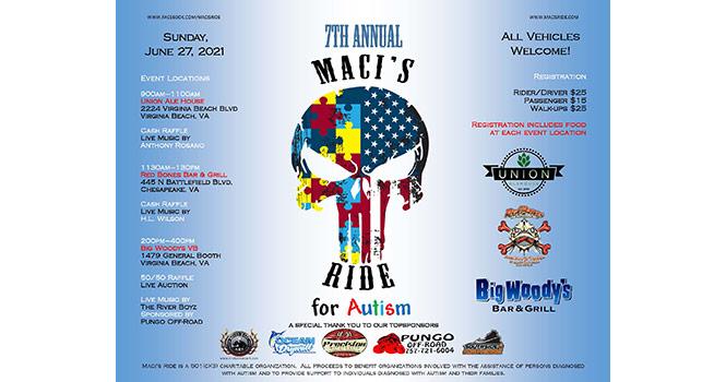 Maci's Ride for Autism