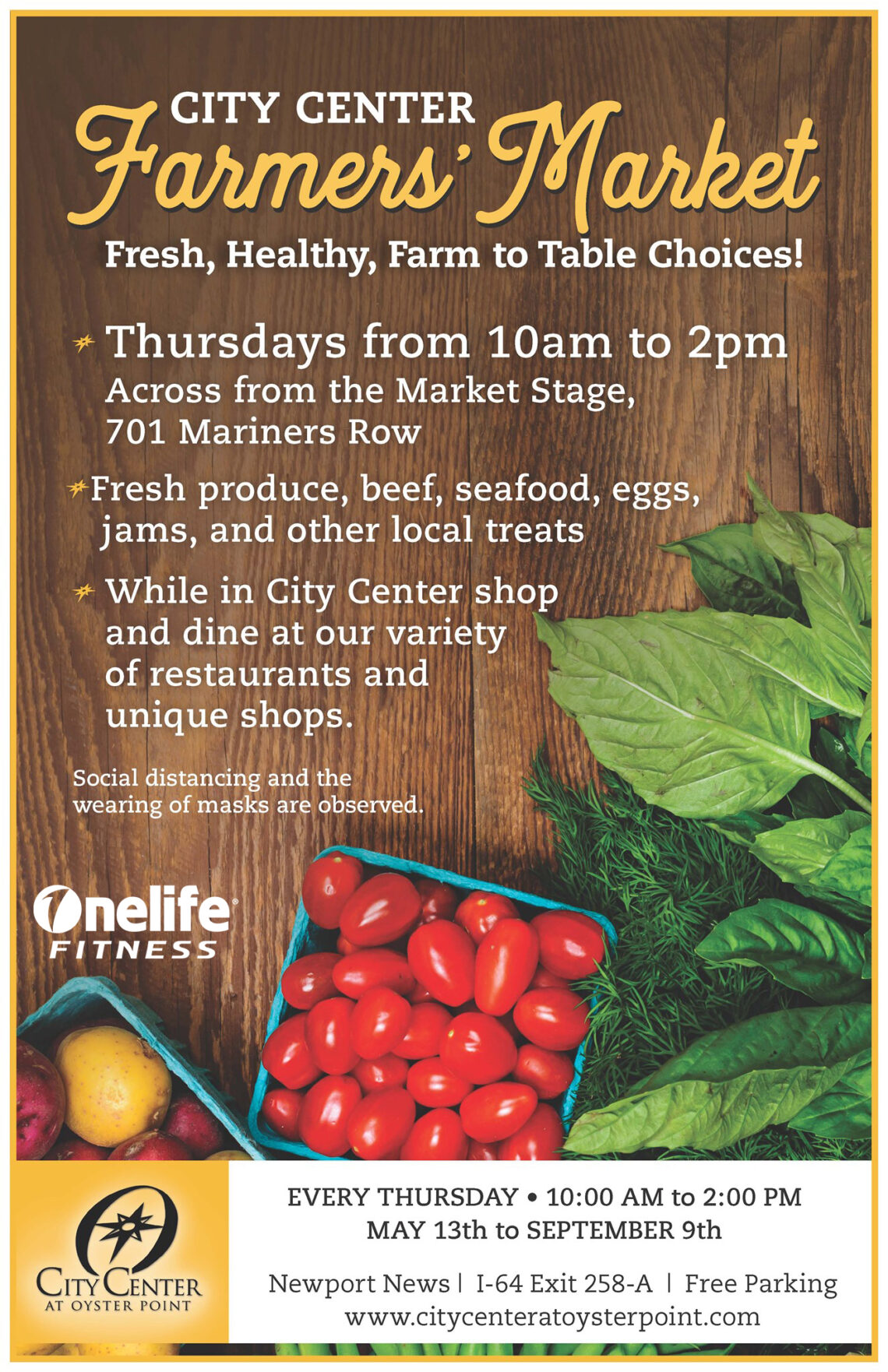 Farmers Market at City Center at Oyster Point