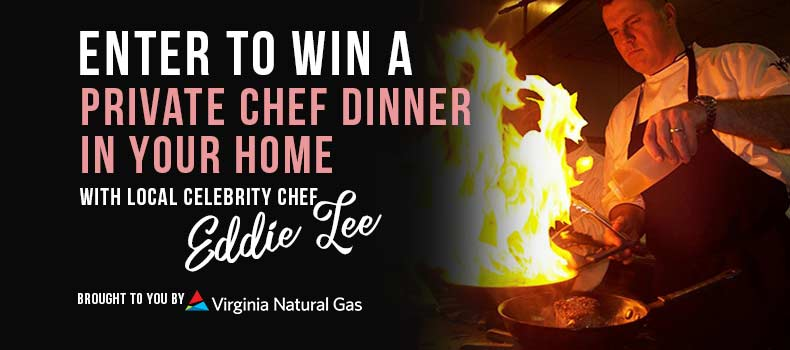 Win a Private Chef Dinner in Your Home